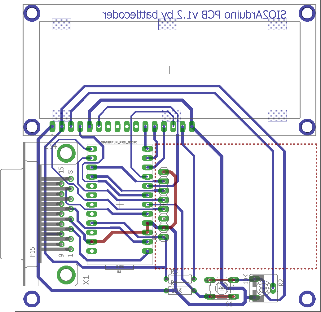 Updated PCB with slightly improved spacing of several tracks and added id/version label.
