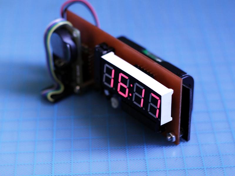 DIY Desk Clock
