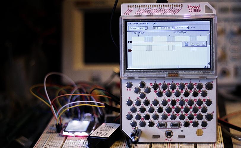 Using your Pocket C.H.I.P as a portable Logic Analyzer