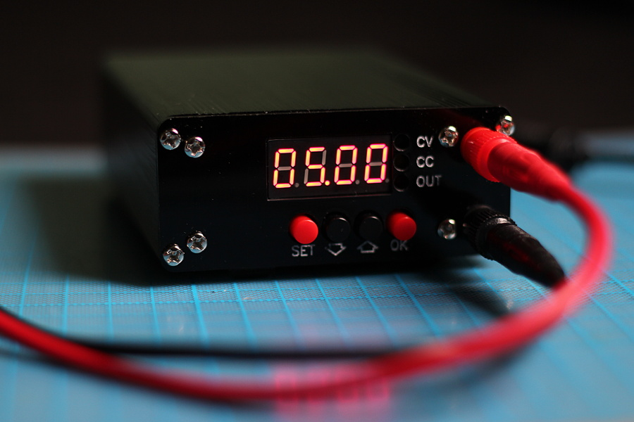 Enclosure for a D3806 Buck-Boost Switching Power Supply