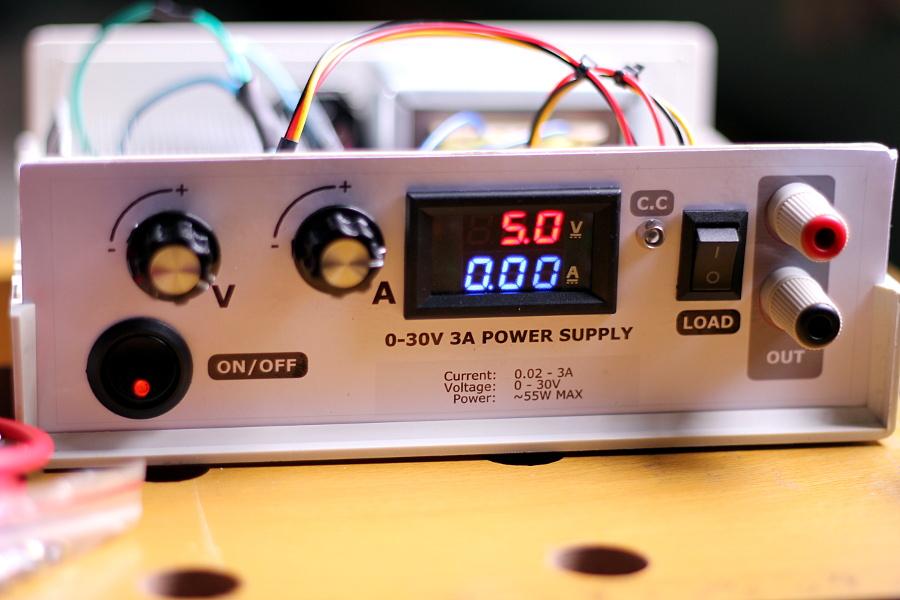 0-30V 3A Linear Power Supply Kit